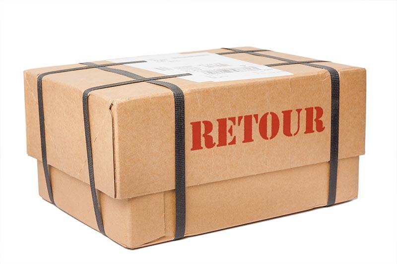 Retour pakket