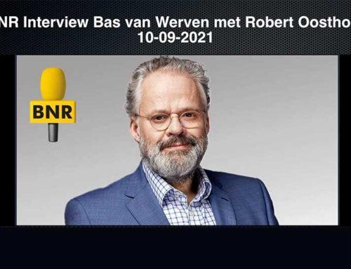 Interview Robert Oosthout op Dag Van De Scheiding door Bas van Werven, programma Ochtendspits  (BNR Nieuwsradio)